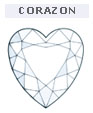 Diamante talla Corazon